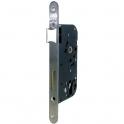 Serrure à larder inox réversible à fouillot - Clé I - Axe à 40 mm - Série T4130 - Tesa