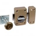 Verrou V136 système V5 à bouton et cylindre extensible - Vachette