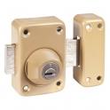 Verrou à cylindre - Cylindre 40 mm - Pêne 110 mm - Toro - Mul-T-lock